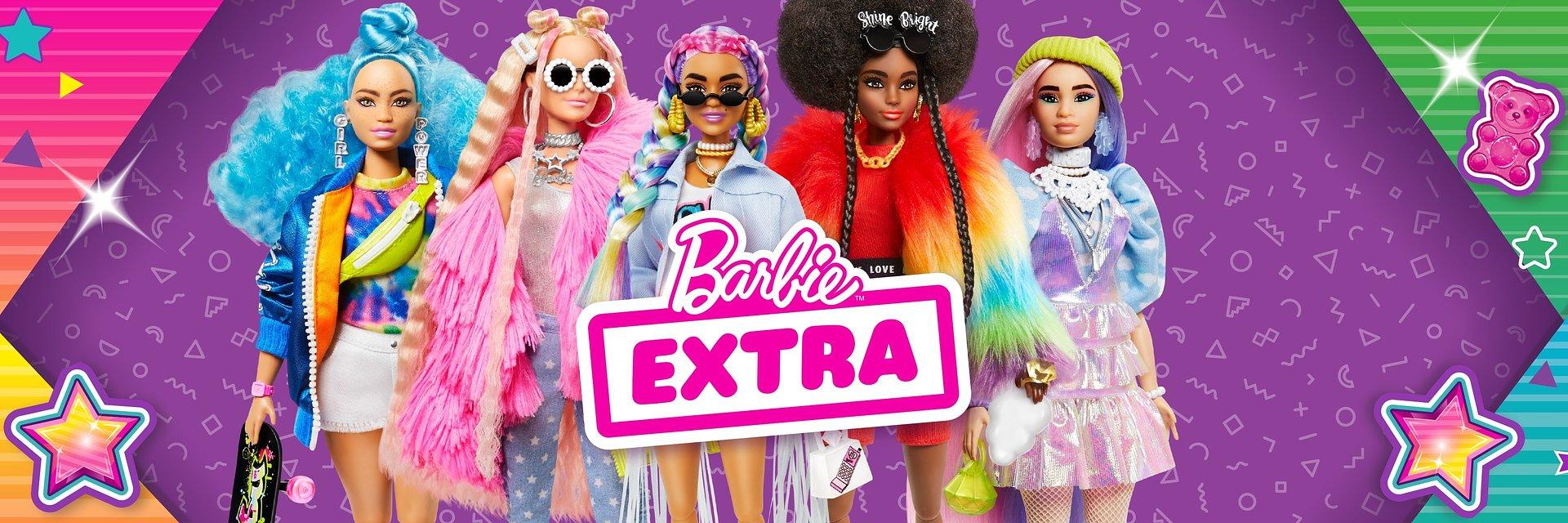 Barbie® EXTRA – baw się modą i pokaż swój styl