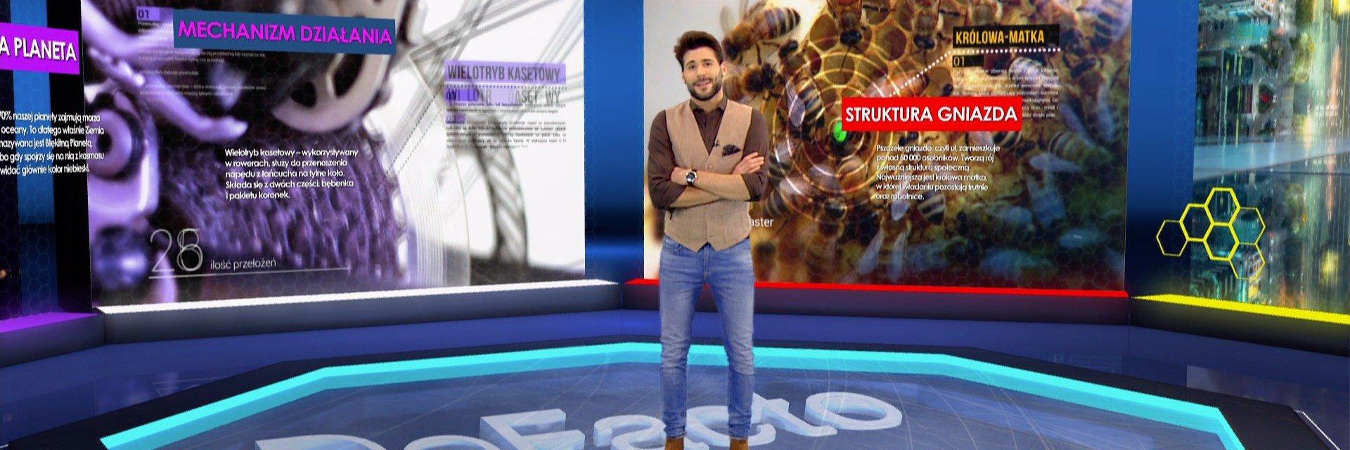 """Nowy sezon """"Defacto"""" wiosną na antenie TTV. Obok Janka Pirowskiego, w programie pojawią się podróżnicy i vlogerzy z kanału """"Planeta Abstrakcja""""."""