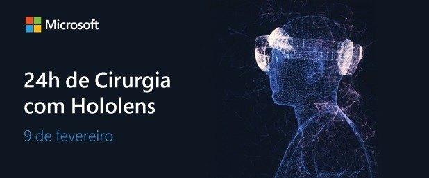 Microsoft HoloLens 2: Evento de 24 horas capacita médicos e cirurgiões em todo o mundo