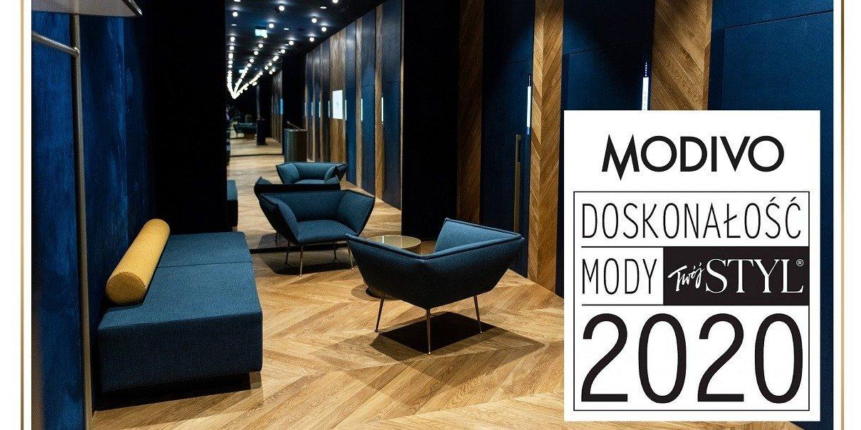 Modivo z nagrodą Doskonałość Mody 2020 miesięcznika Twój Styl w kategorii sklep internetowy premium