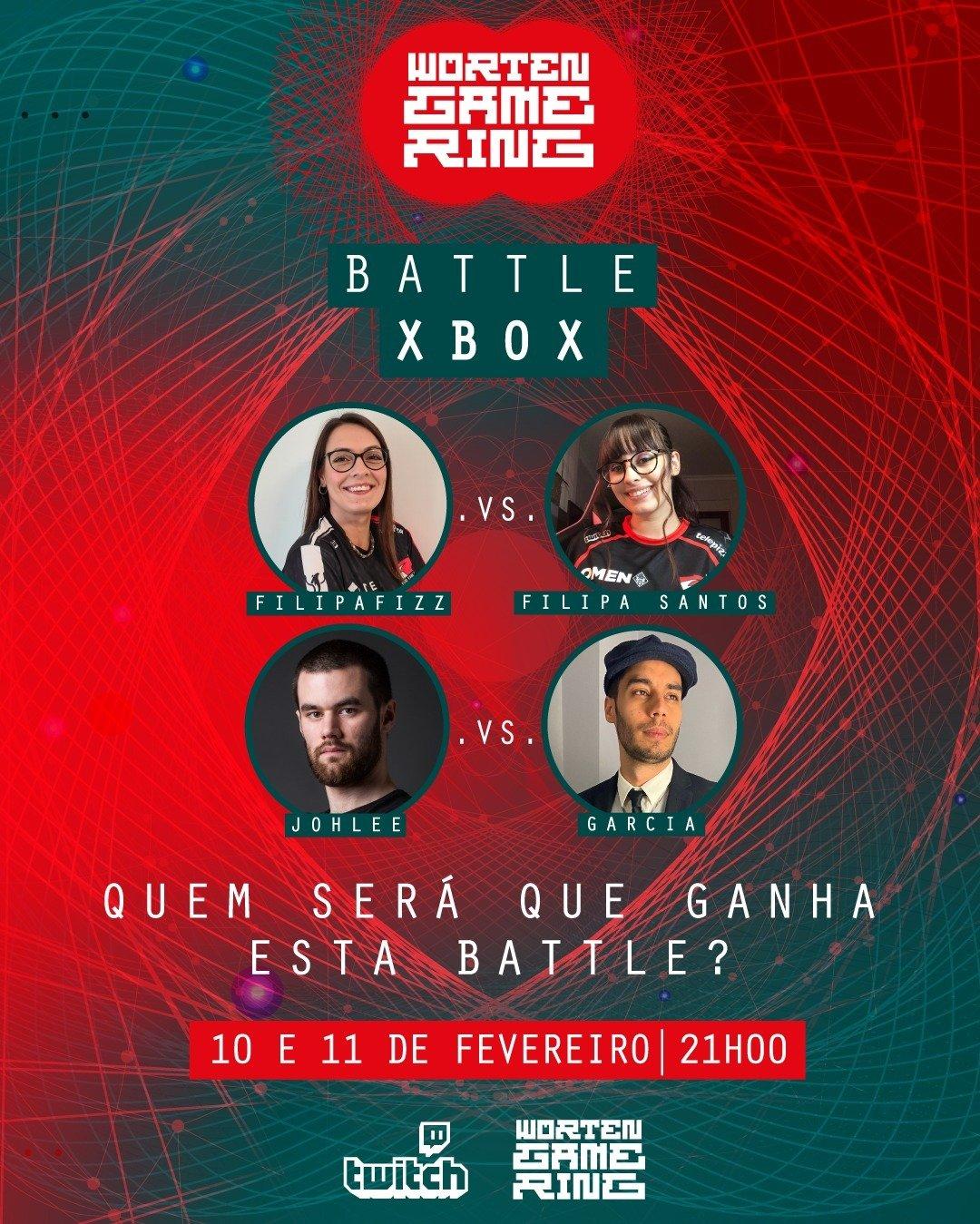 WORTEN GAME RING PROMOVE BATTLE XBOX JÁ A PARTIR DE HOJE