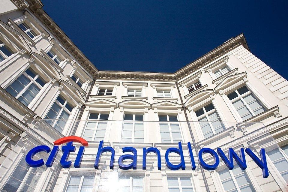 Mocny biznesowo kwartał Citi Handlowy; wynik finansowy pod wpływem jednorazowego odpisu