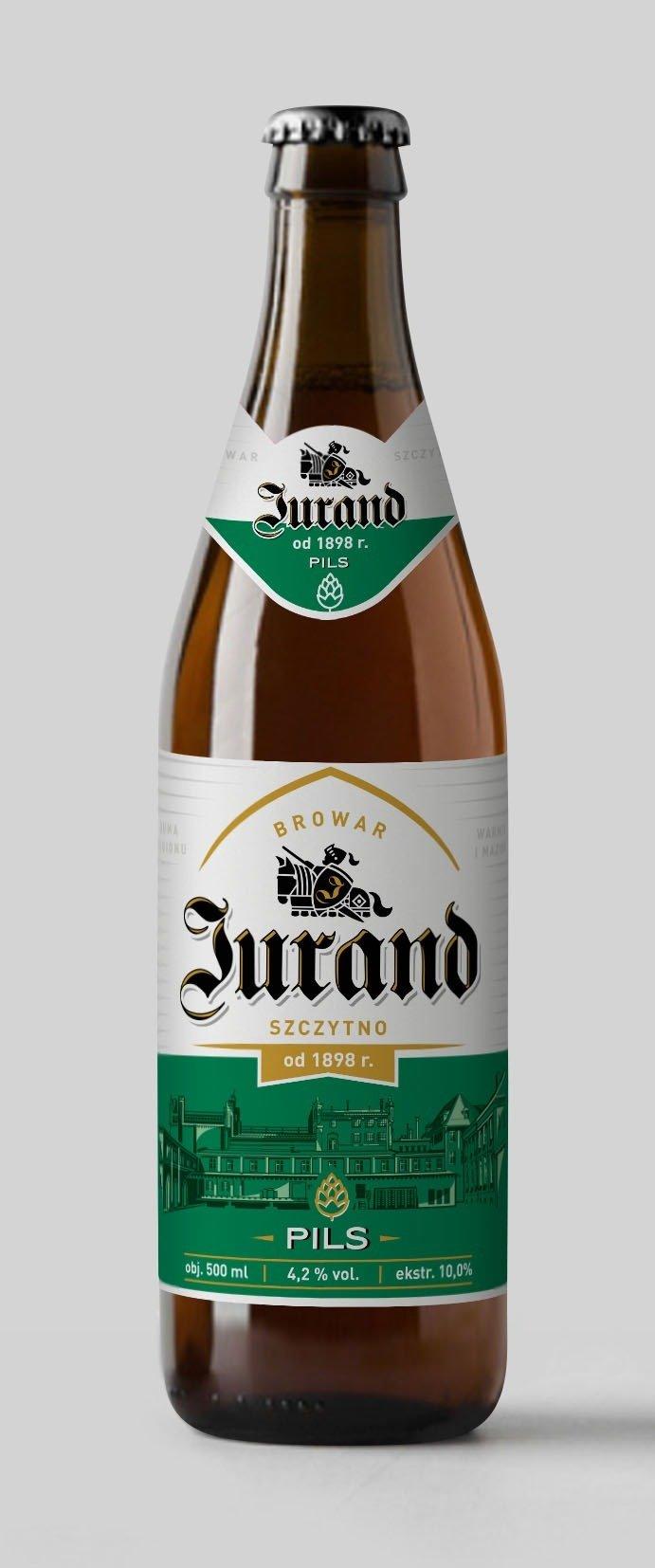 Mazurska Manufaktura S.A. wraca na rynek z kultowym piwem Jurand. Pierwszy rozlew trafił do Biedronki