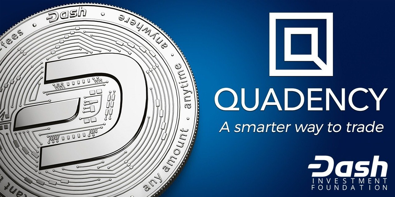 Dash Investment Foundation Invests in Quadency Crypto Trading and Automation Platform