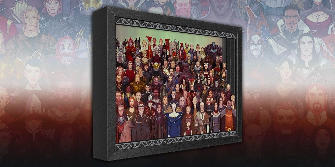 DRAGON AGE CAST OF THOUSANDS SHADOW BOX - Product Announcement