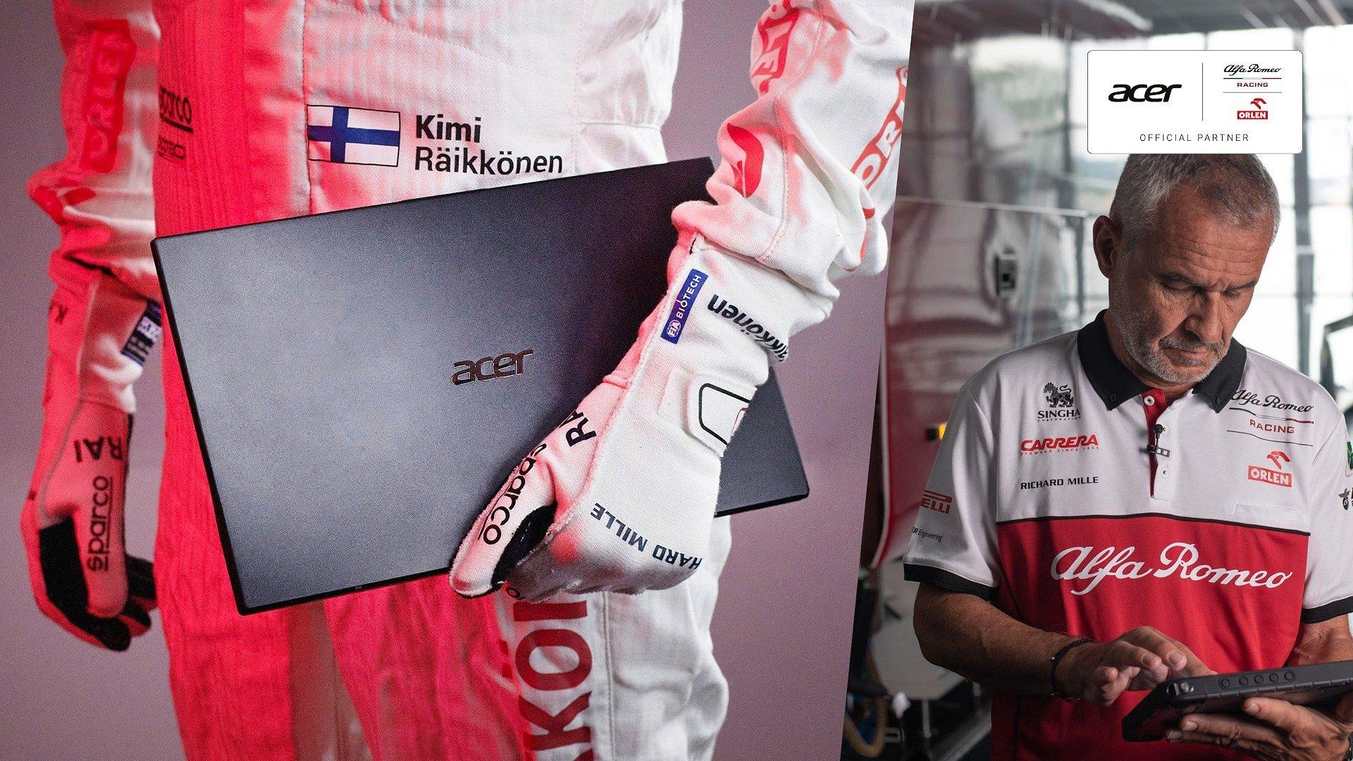 Acer i Sauber Motorsport przedłużają współpracę w sezonie 2021