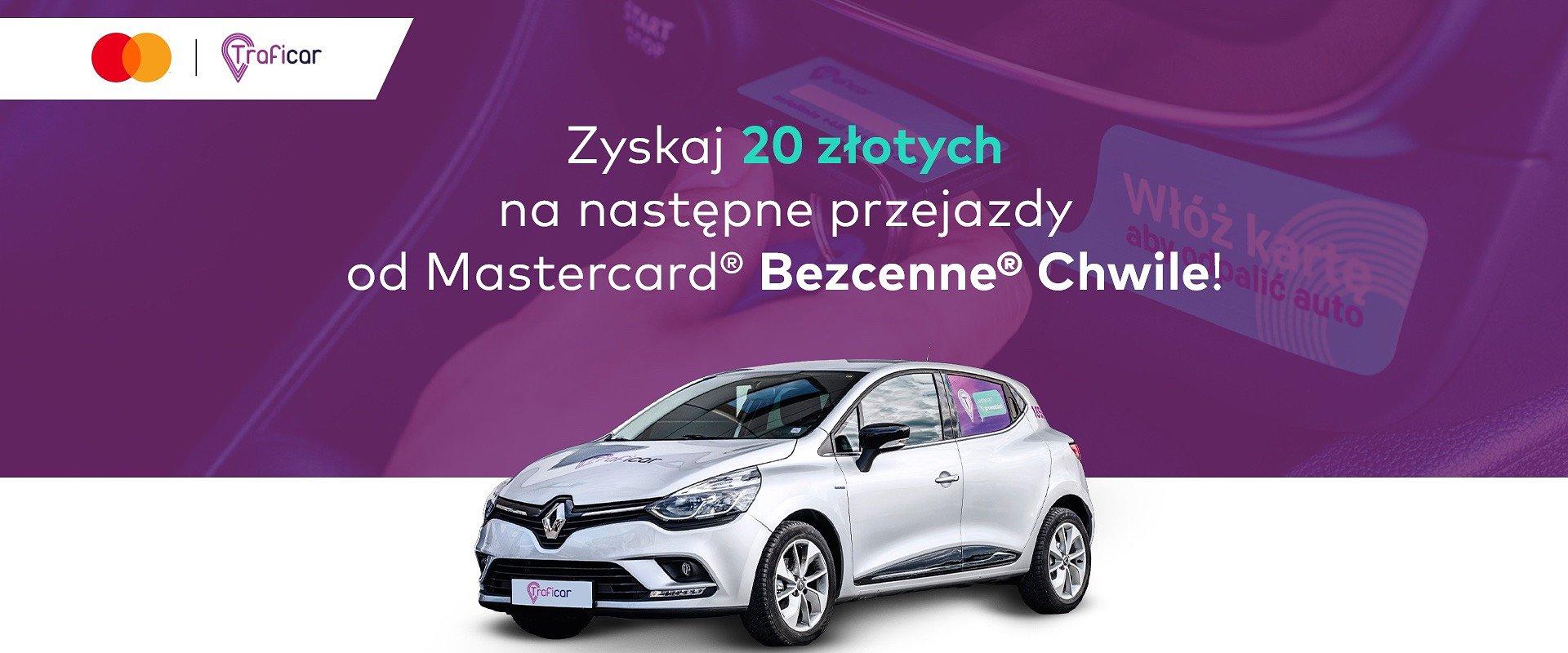 Carsharing w programie lojalnościowym. Traficar nowym partnerem Mastercard® Bezcenne® Chwile