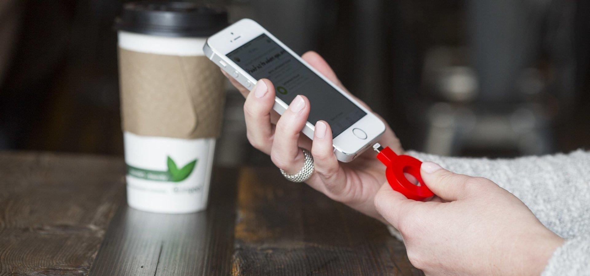 Powermat doładuje telefony na Targach FOOD-to-GO w Gdańsku