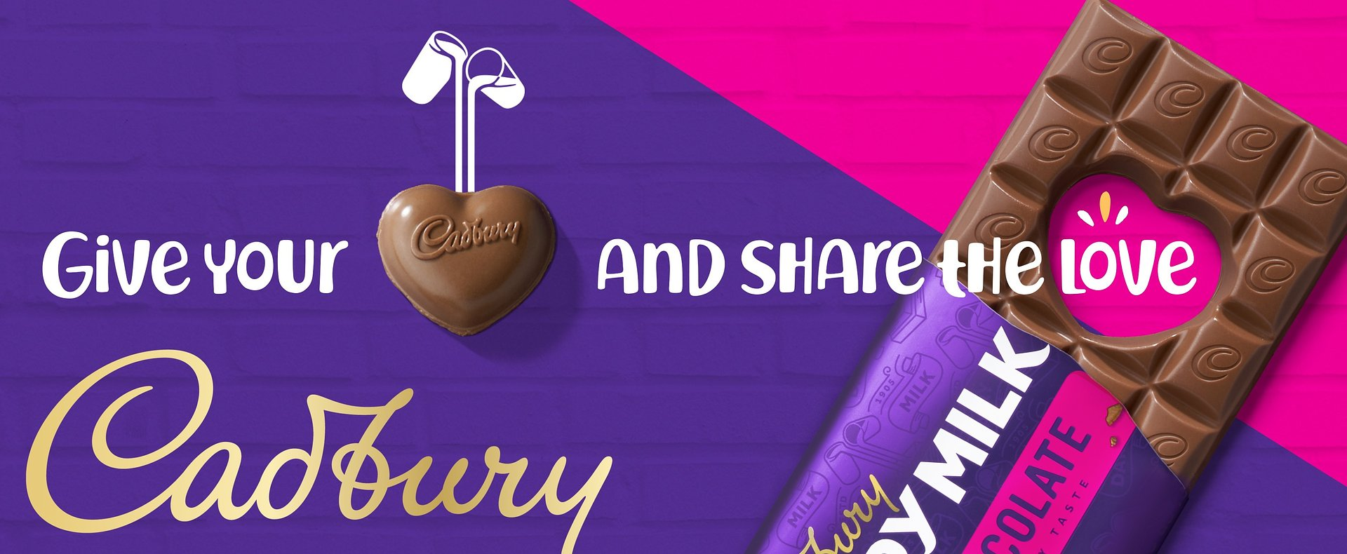 Give Your Heart and Share the Love with Cadbury this Valentine's Day