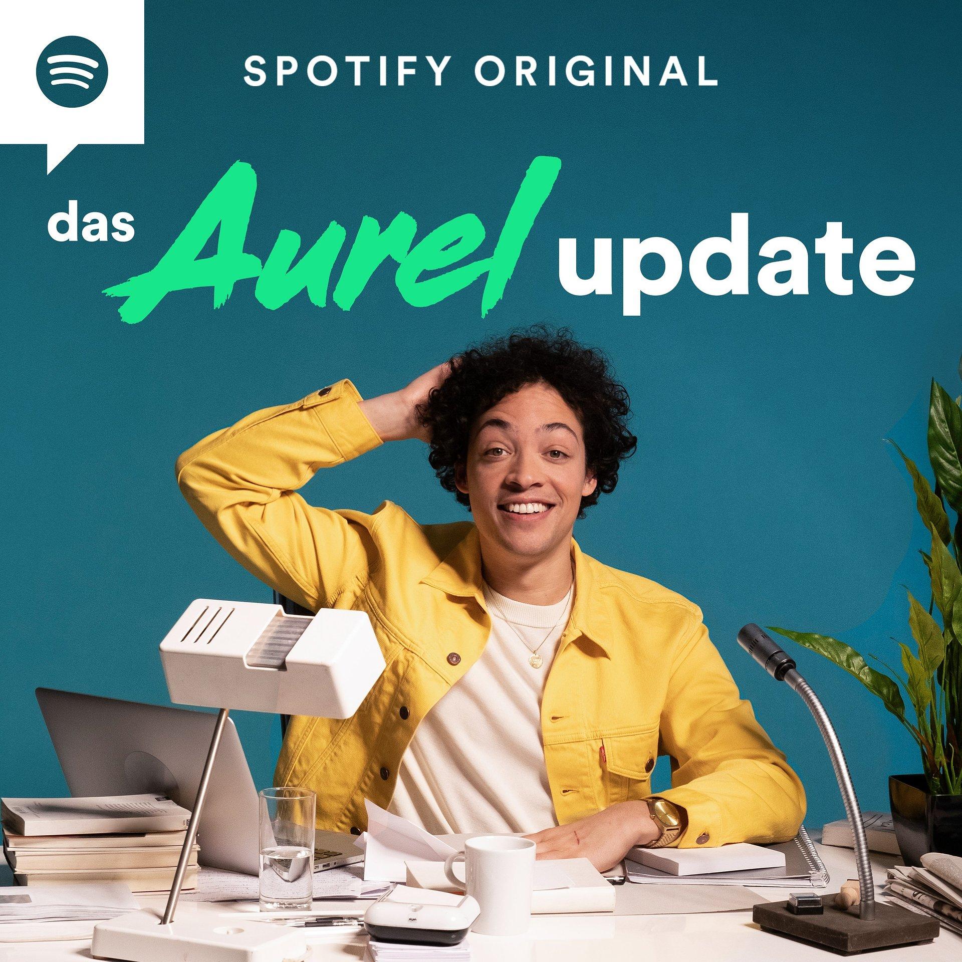 """Aurel Mertz mit neuem Spotify Original Podcast """"Das Aurel Update"""""""