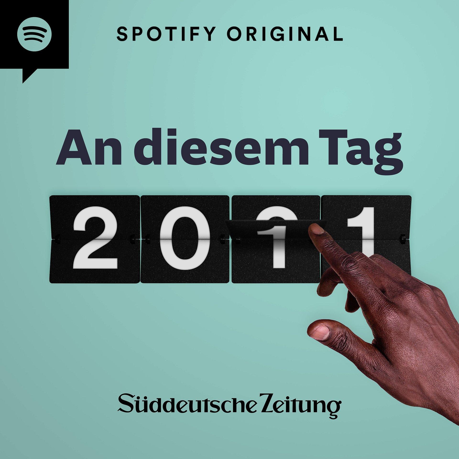 """""""An diesem Tag"""": Spotify arbeitet erstmals mit der Süddeutschen Zeitung zusammen"""