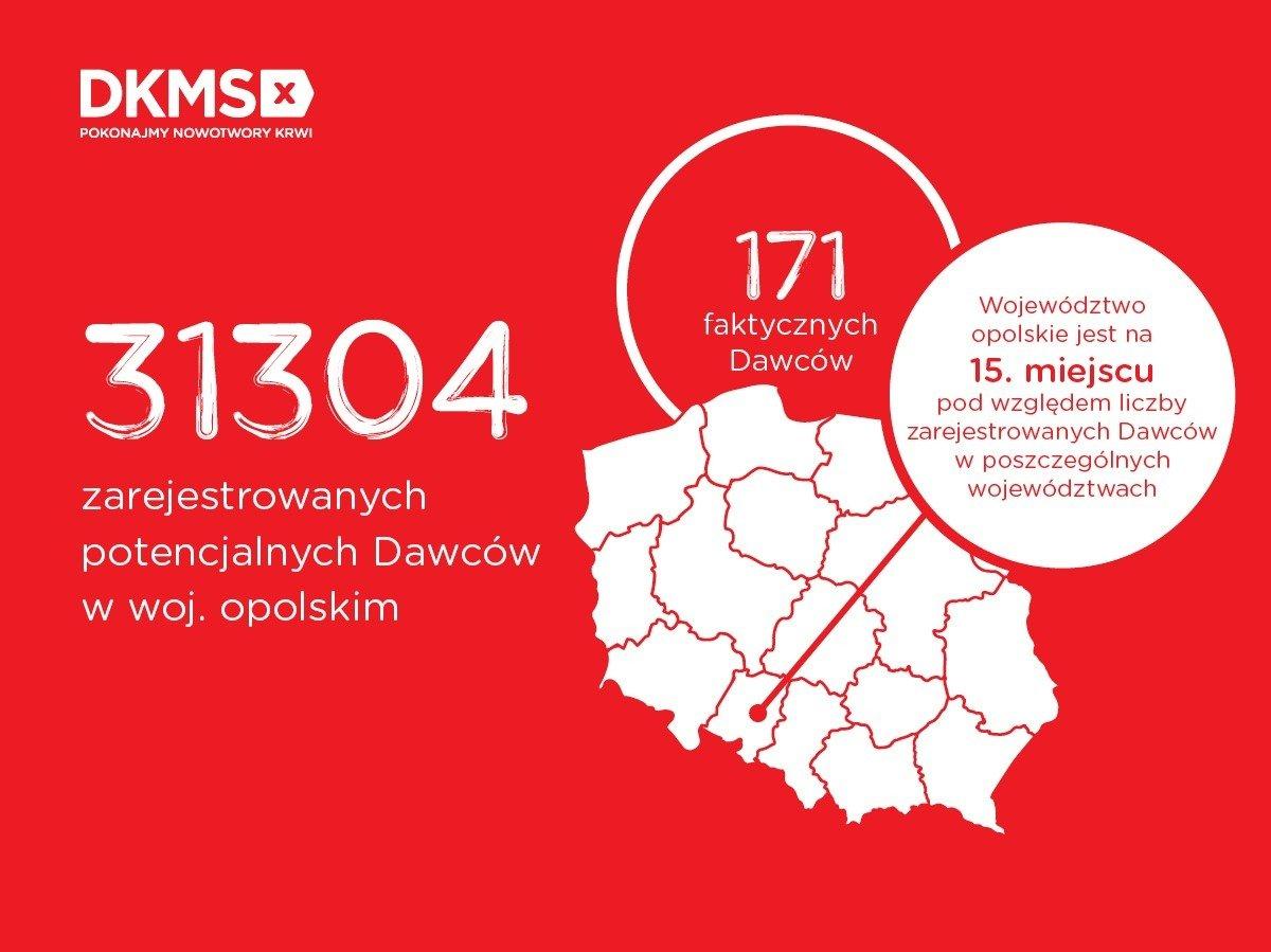 Dawstwo szpiku w województwie opolskim. Jak wyglądają statystyki?