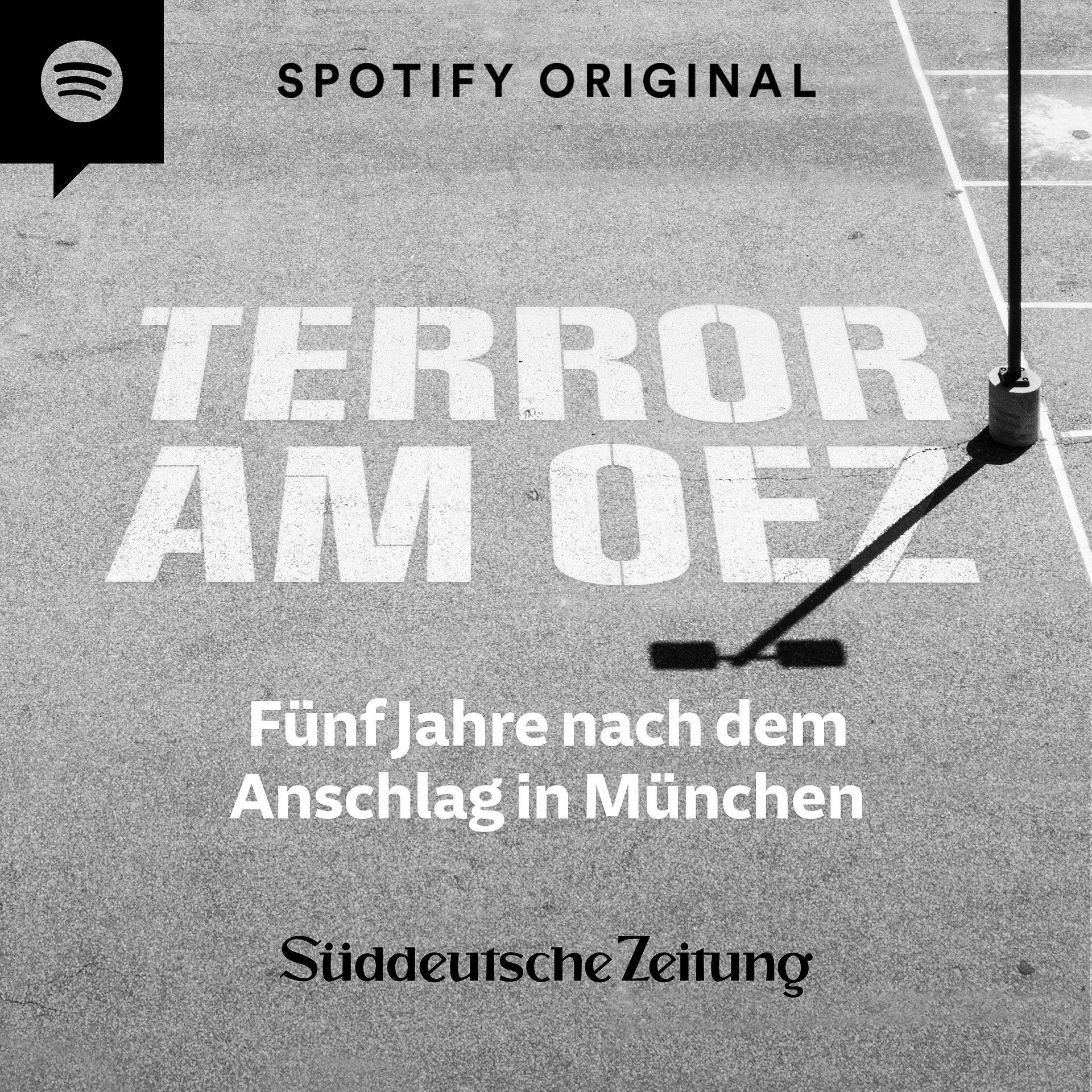 """""""Terror am OEZ – Fünf Jahre nach dem Anschlag in München"""": Neuer Spotify Original Podcast zum Jahrestag"""