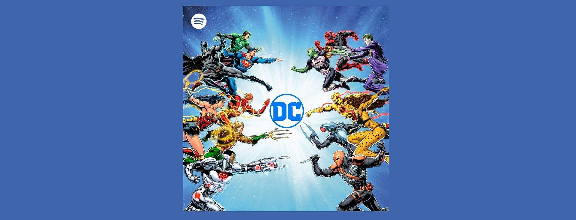 Audio führt das Universum der DC Comics in neue Dimensionen