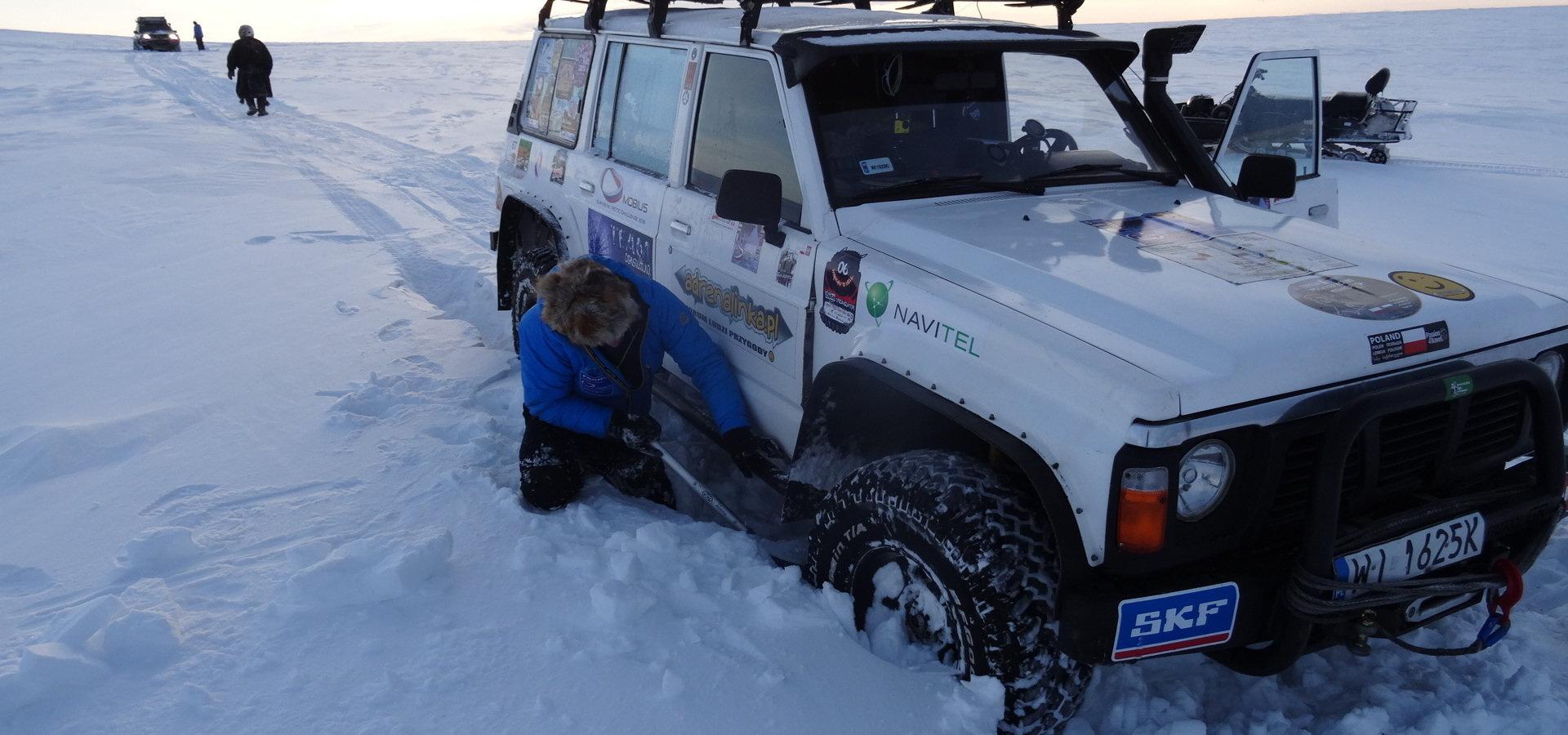 Łożyska SKF w drodze na Syberię