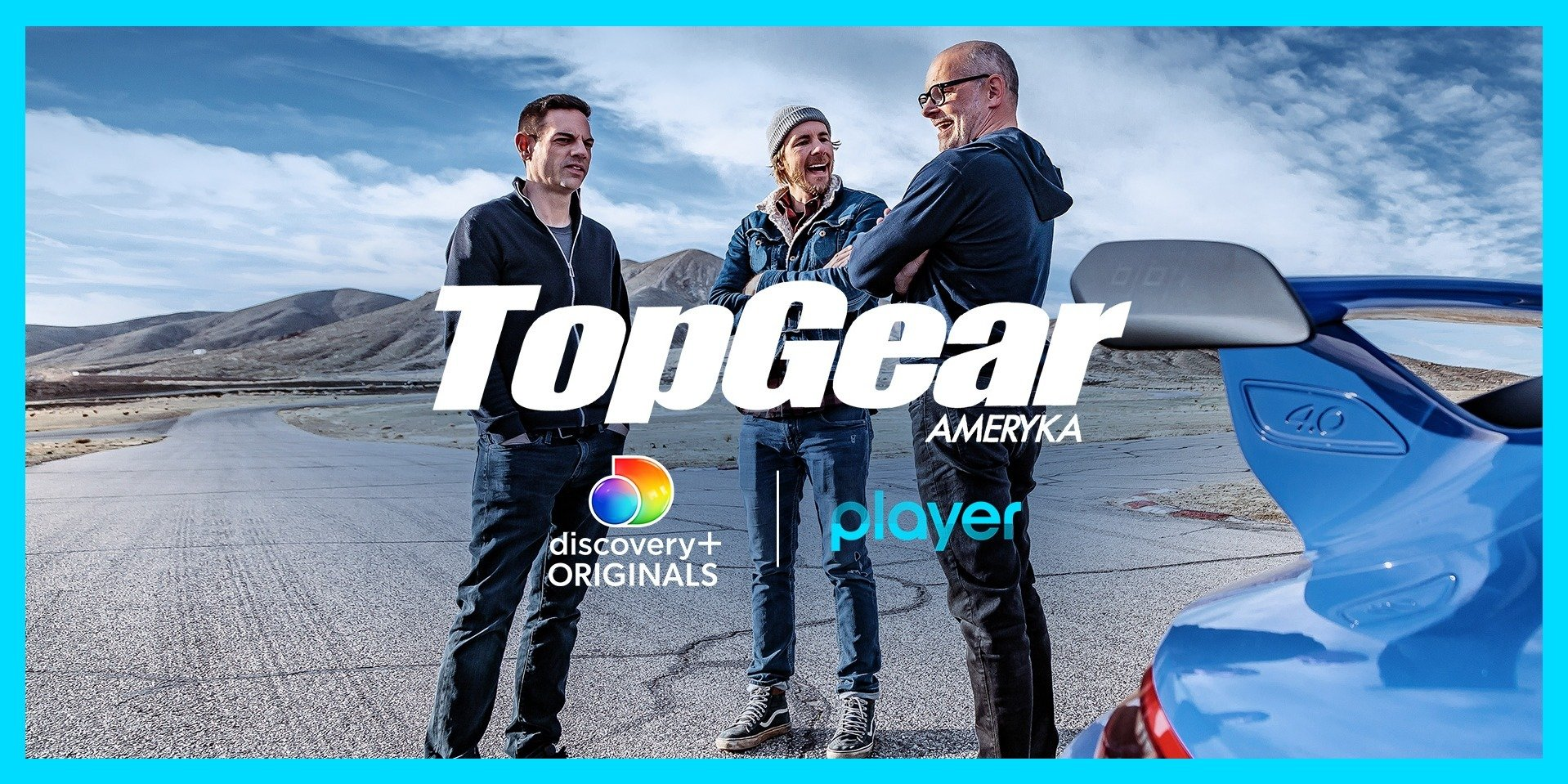 Top Gear Ameryka z Daxem Shepardem, Robem Corddrym oraz Jethrem Bovingdonem wchodzi do Playera!