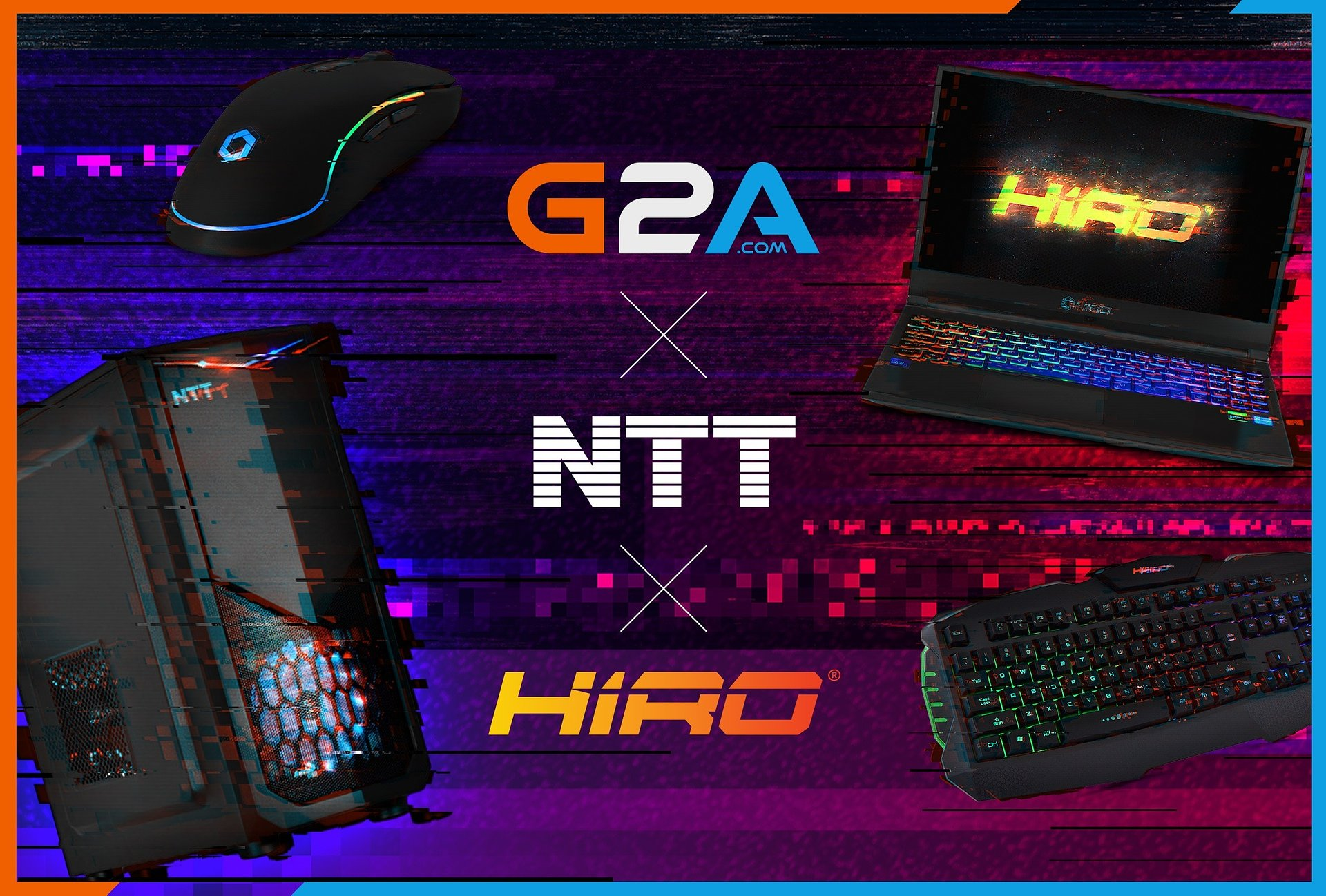 G2A.COM nawiązuje współpracę z NTT
