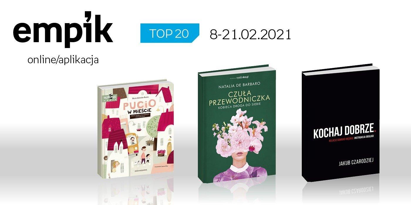 Książkowa lista TOP 20 na Empik.com za okres 8-21 lutego