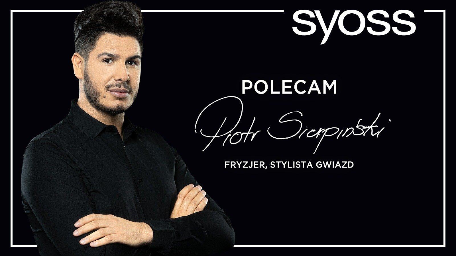 Piotr Sierpiński ambasadorem marki Syoss w Polsce