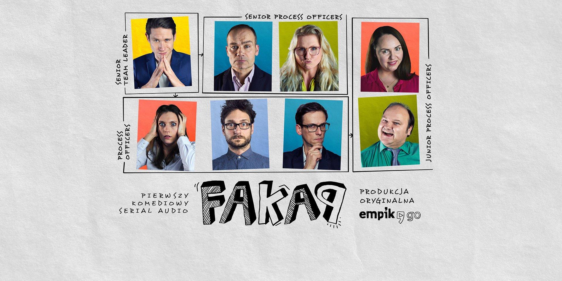 FAKAP | Pierwszy komediowy serial audio w Polsce zadebiutuje w Empik Go