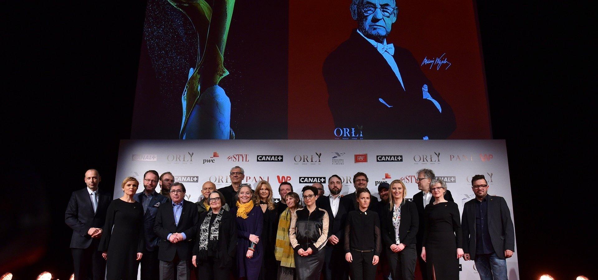 CANAL+ oficjalnym nadawcą ceremonii wręczenia Polskich Nagród Filmowych Orły 2017