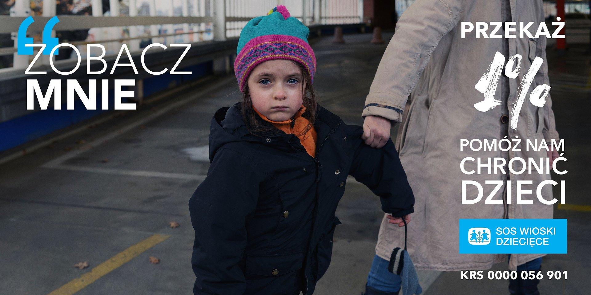 """""""Zobacz mnie"""" – Kampania 1% Stowarzyszenia SOS Wioski Dziecięce"""