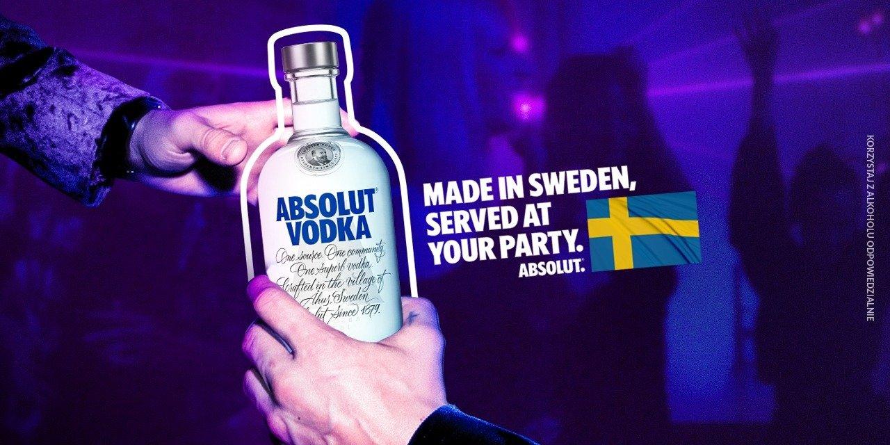 Bezkompromisowa kampania marki Absolut