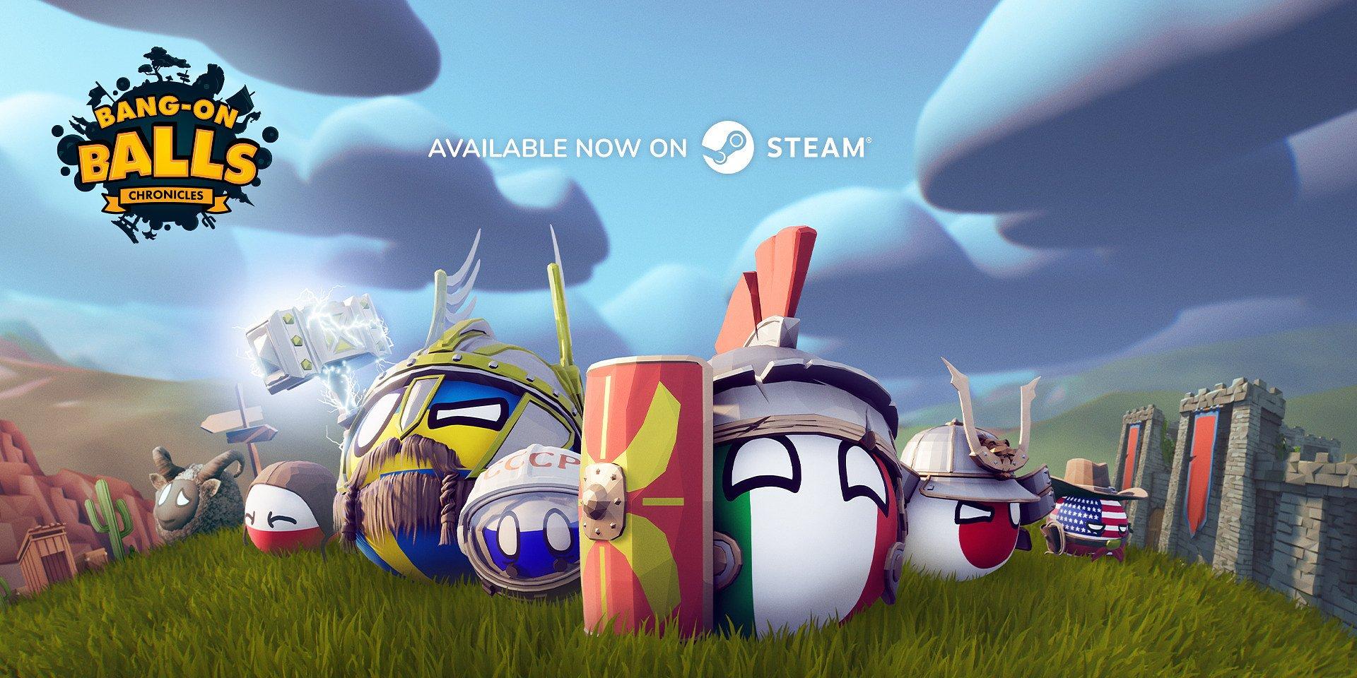 Кантрибол игра Bang-On Balls: Chronicles выкатилась в ранний доступ на Steam!