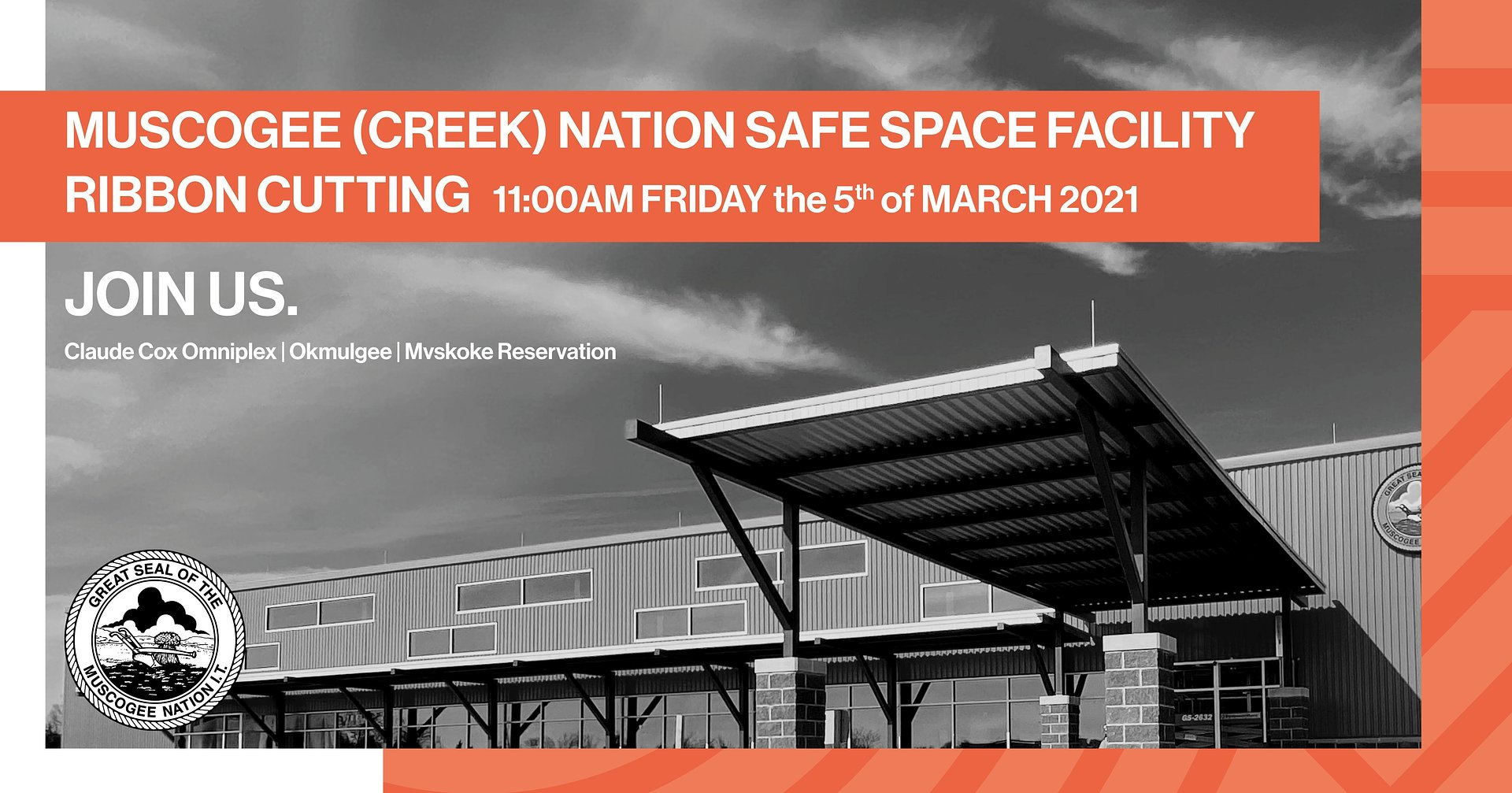 Muscogee Nation Safe Space Facility Ribbon-cutting Ceremony