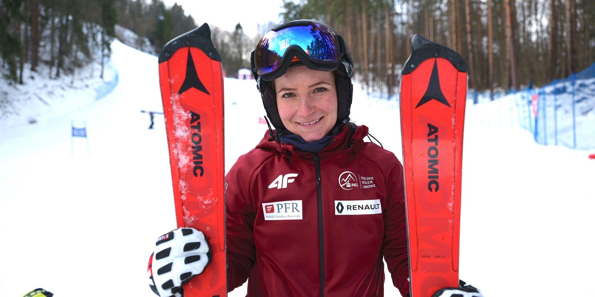 Maryna Gąsienica-Daniel: Ważne, by uczyć się w czasie każdych zawodów