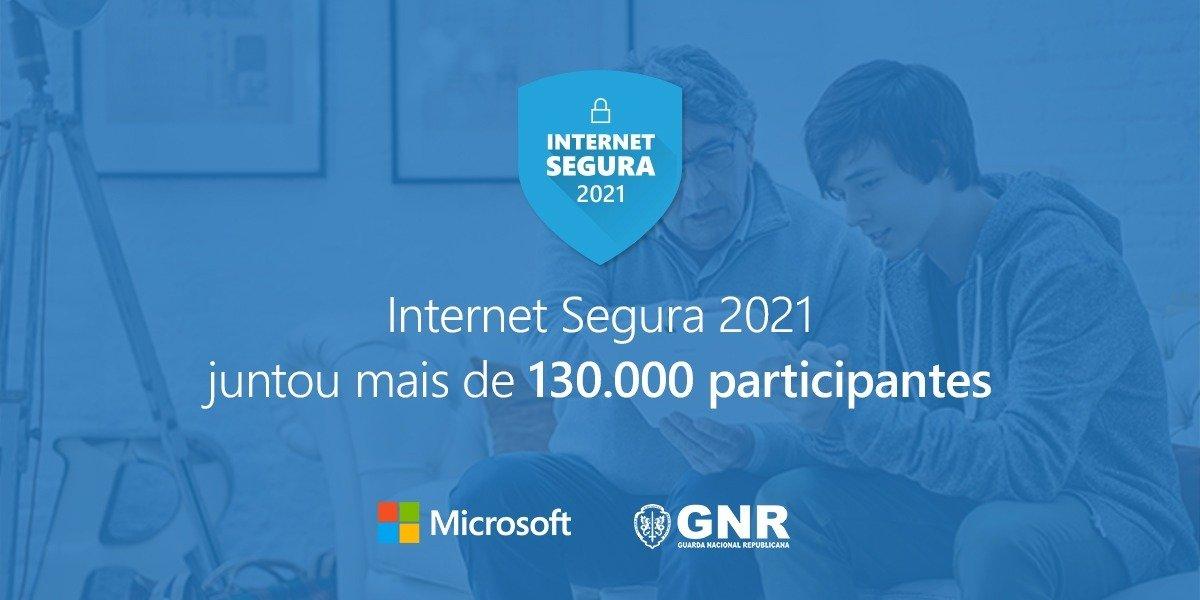 Iniciativa da Microsoft e da GNR juntou mais de 130 mil participantes