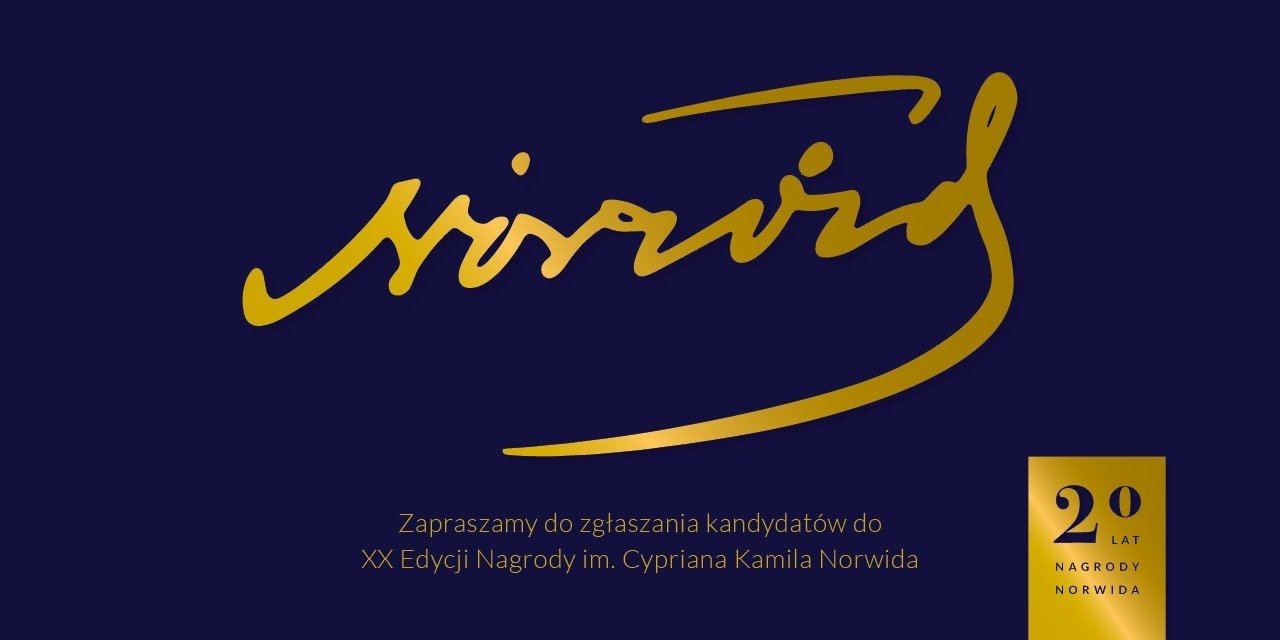 XX edycja Nagrody im. C. K. Norwida
