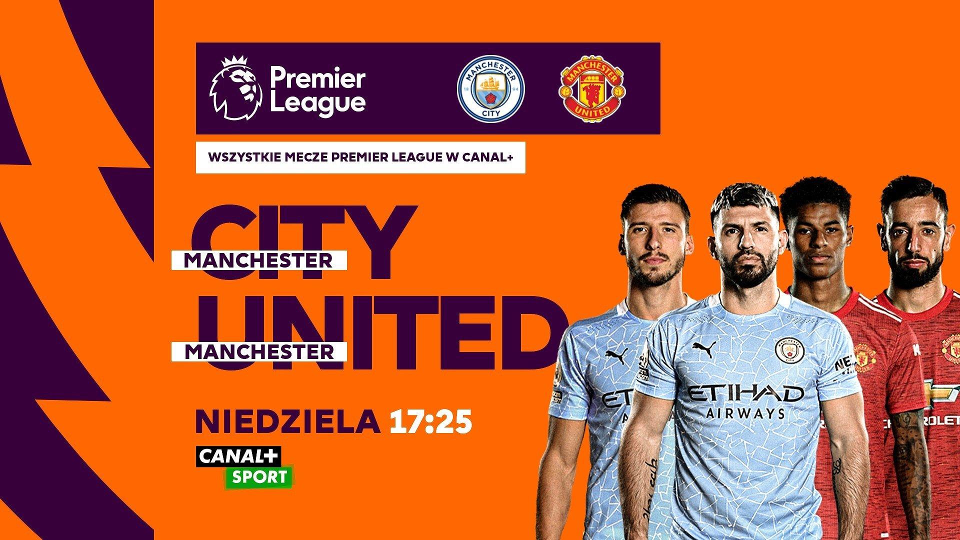 Derby Manchesteru hitem weekendu w CANAL+