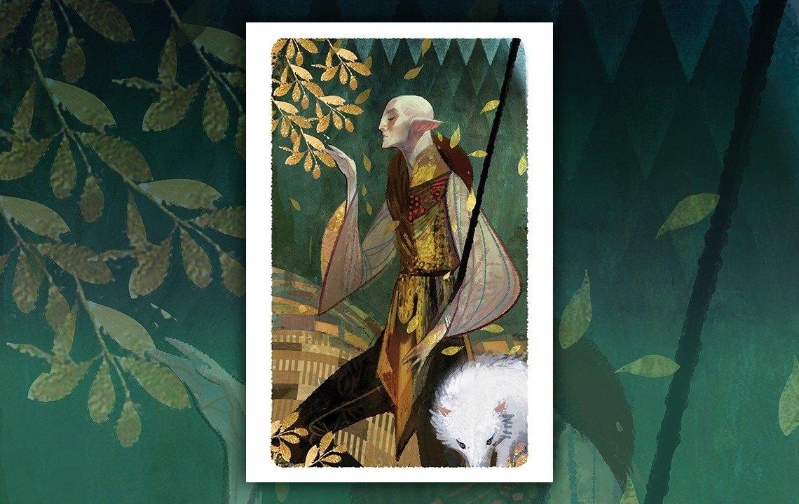Product Announcement | BioWare | Dragon Age: Solas Tarot Lithograph
