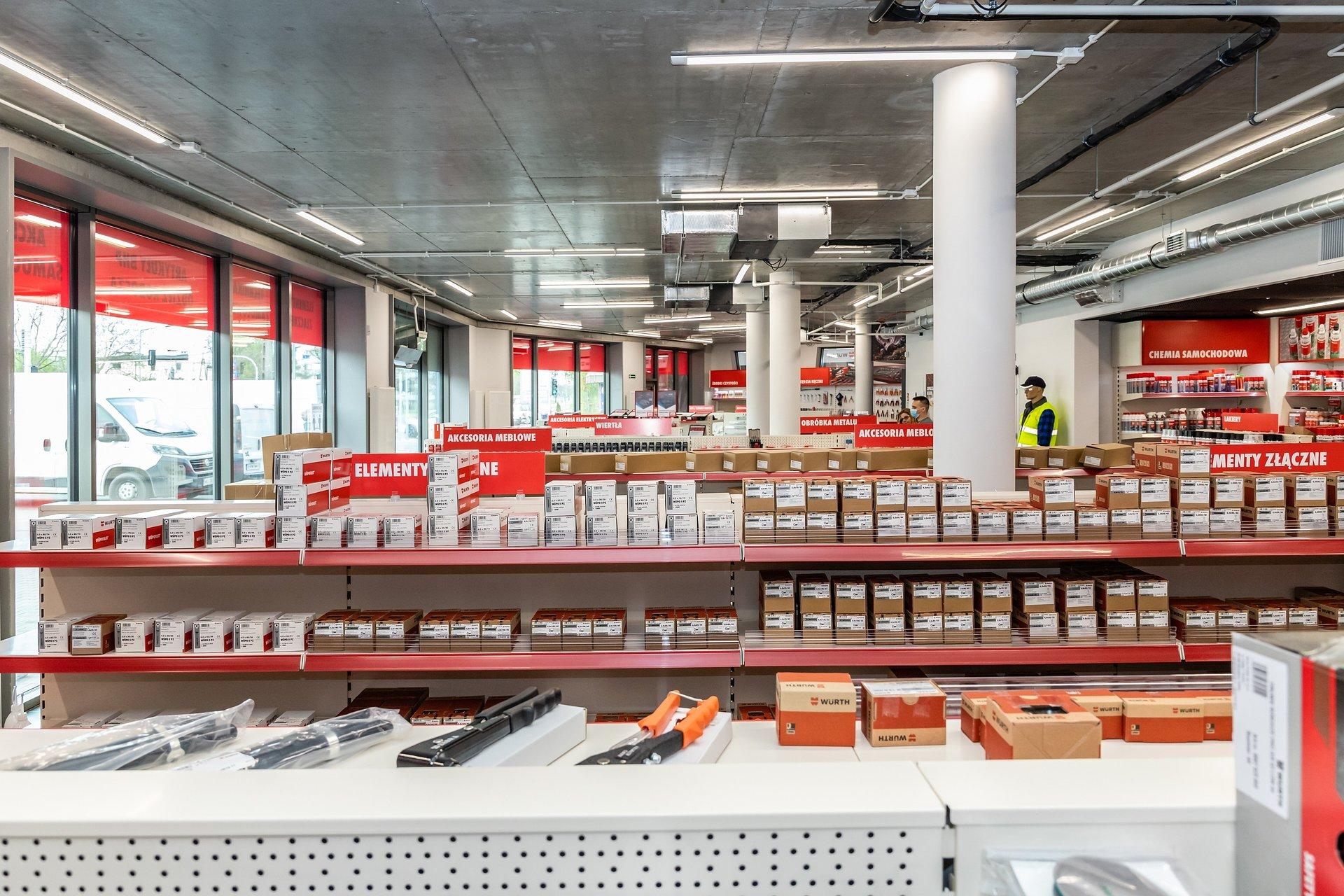 Würth Polska otwiera drugi sklep stacjonarny w Szczecinie