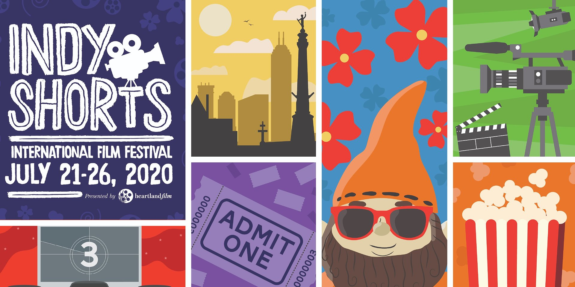 Indy Shorts International Film Festival moves to drive-in and virtual format, running July 21–26, at Tibbs Drive-In and your home.