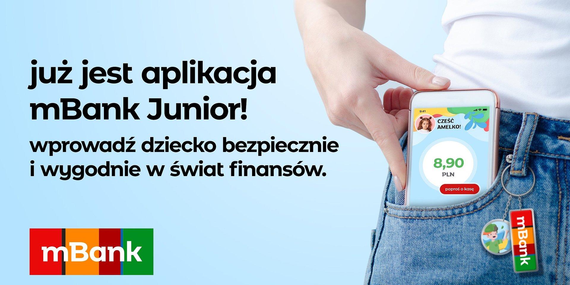 Już jest! Aplikacja mobilna do konta Junior