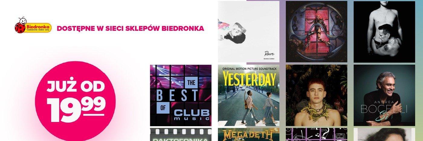 Nowe płyty CD w ofercie Biedronki