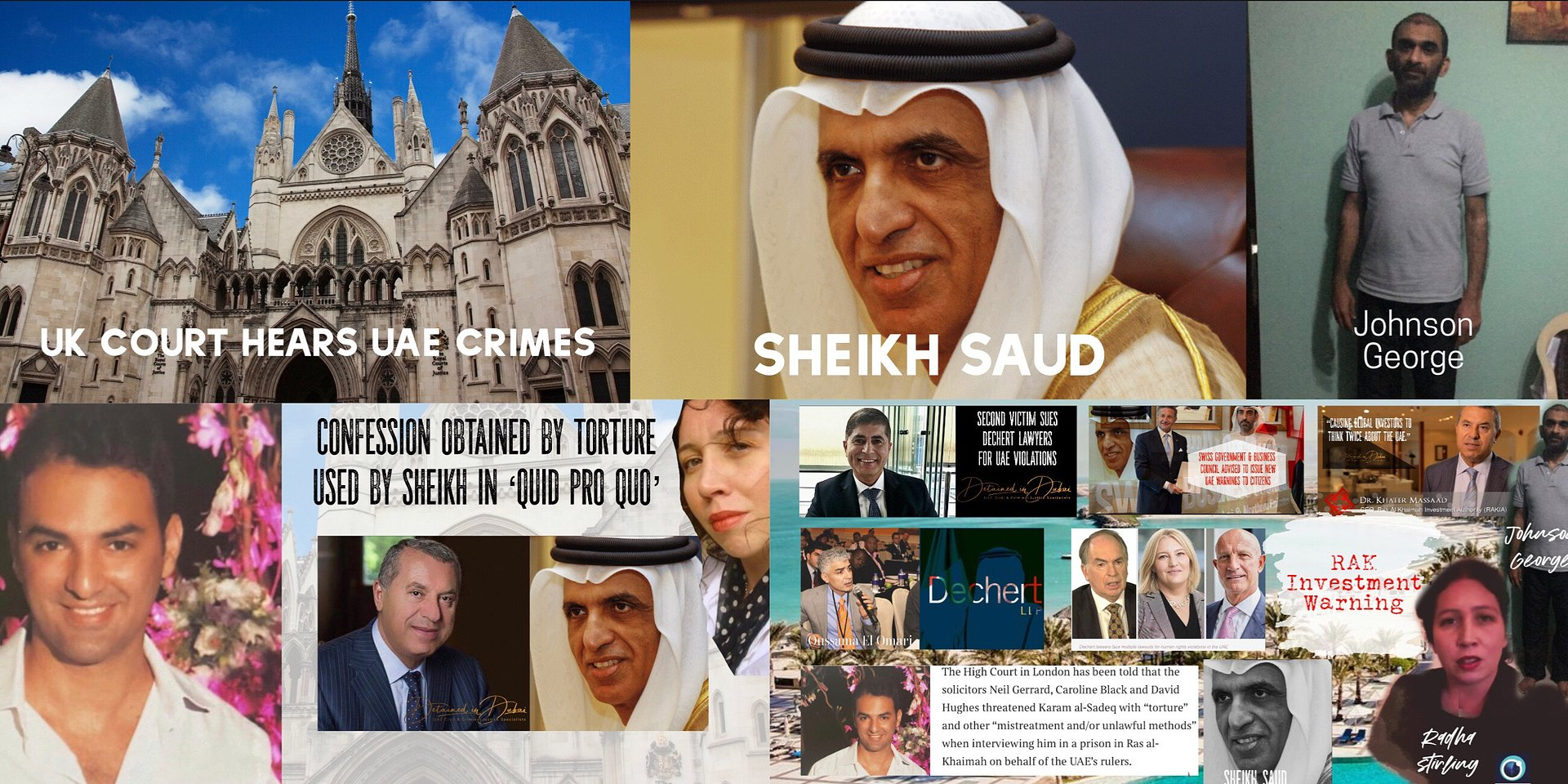 UK courts expose UAE hacking, forced confessions & torture