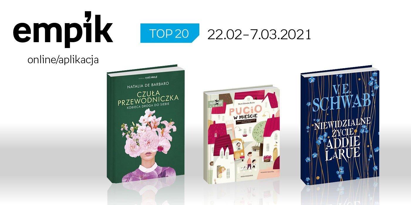 Książkowa lista TOP 20 na Empik.com za okres 22 lutego – 7 marca