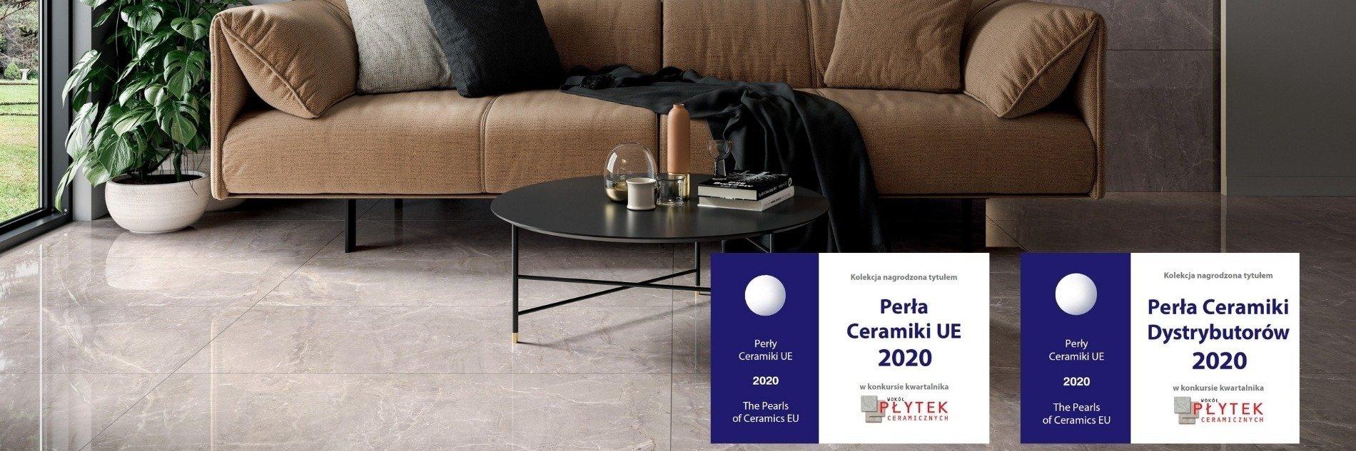 Perły Ceramiki UE 2020 awarded. 8 stauettes for Ceramica Paradyż