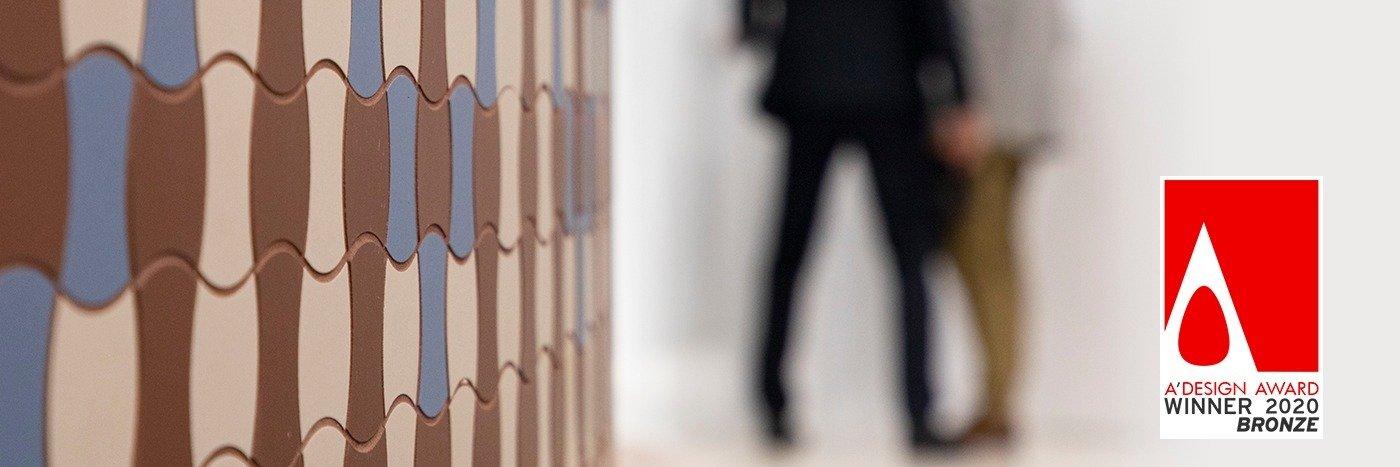 Polnisches Design wird weltweit geschätzt. Die Kollektion Moderne von Ceramika Paradyż wurde mit dem Bronze A'Design Award 2020 ausgezeichnet