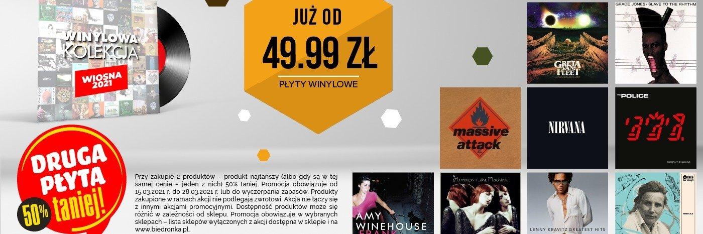 Nowe płyty winylowe w ofercie sklepów Biedronka