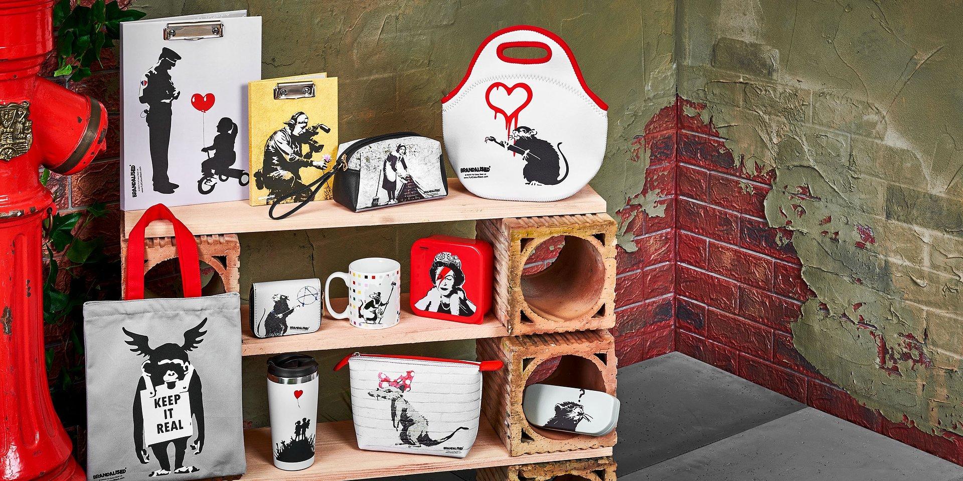 Kolekcja inspirowana twórczością Banksy'ego już w Empiku