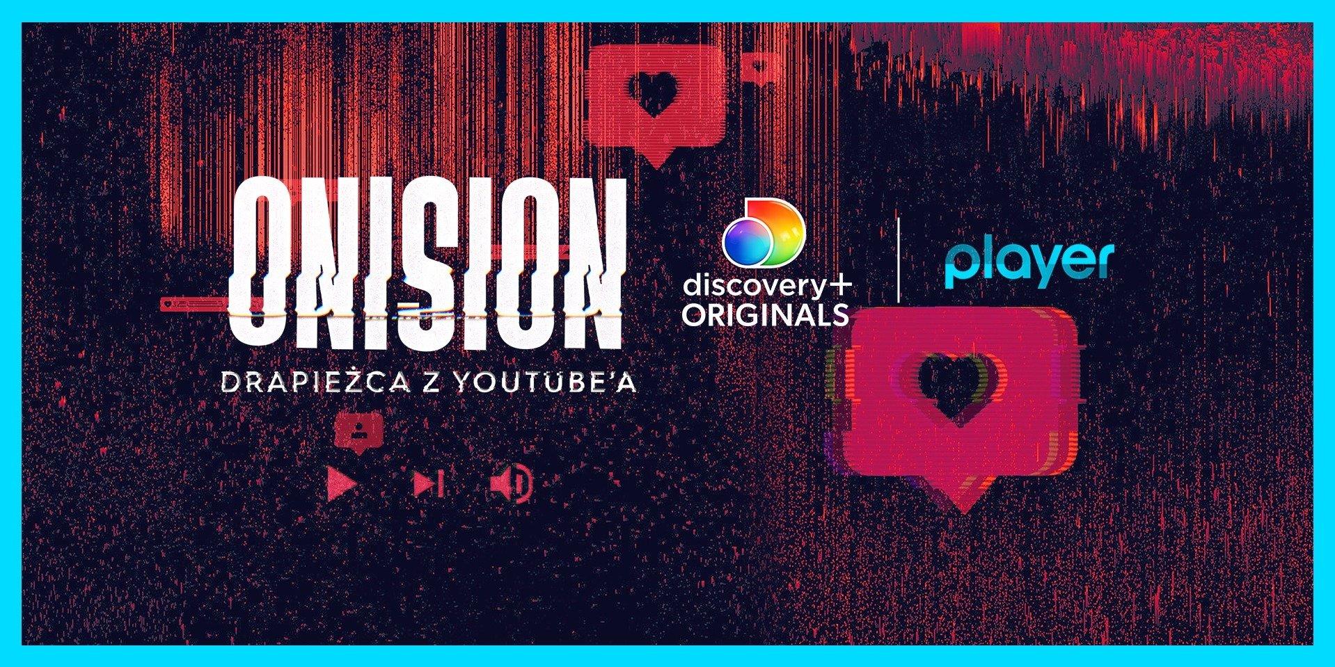 """""""Onision: Drapieżca z Youtube'a"""" – nowa seria dokumentalna discovery+ Originals tylko na Playerze!"""