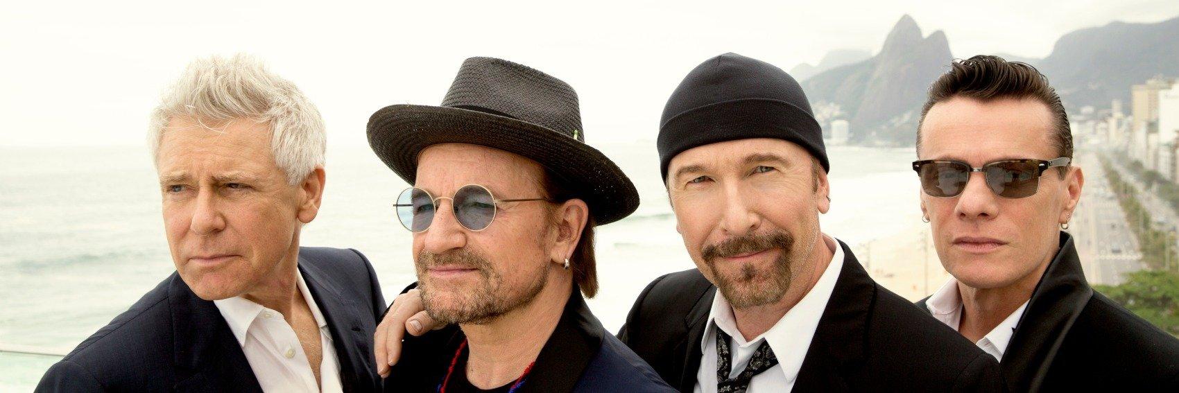 U2 udostępnia kultowe występy w internecie