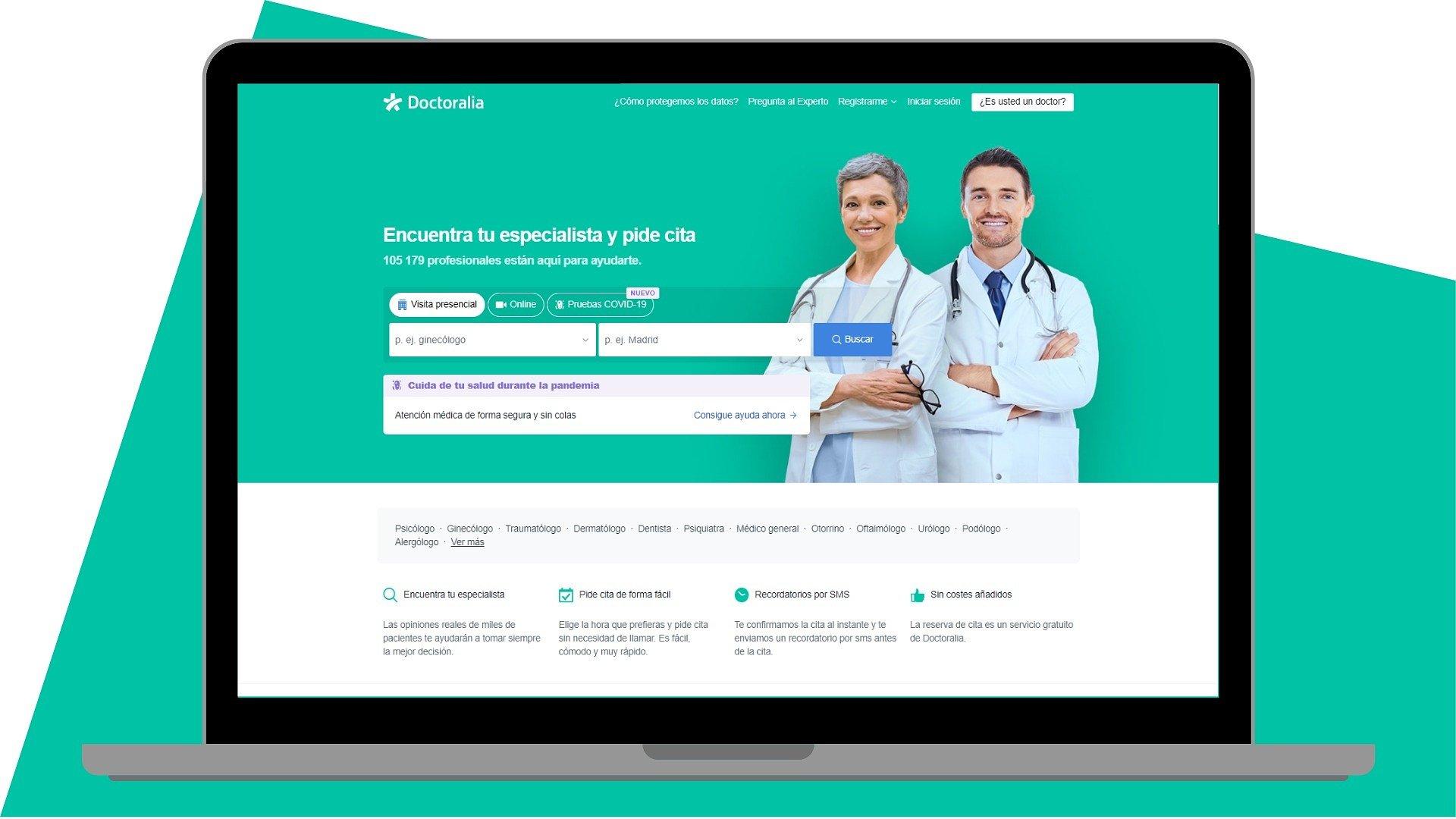 Doctoralia dispara su facturación un 27% y se sitúa como líder nacional en servicios de telemedicina