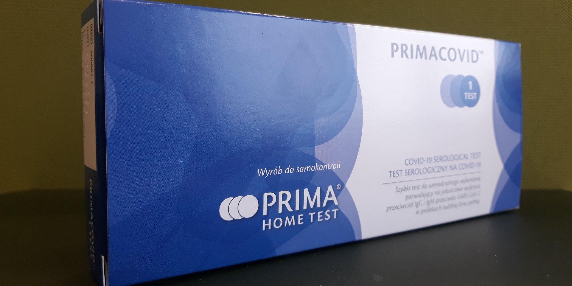 Testy na przeciwciała Covid-19 pojawią się ponownie w sklepach Biedronka