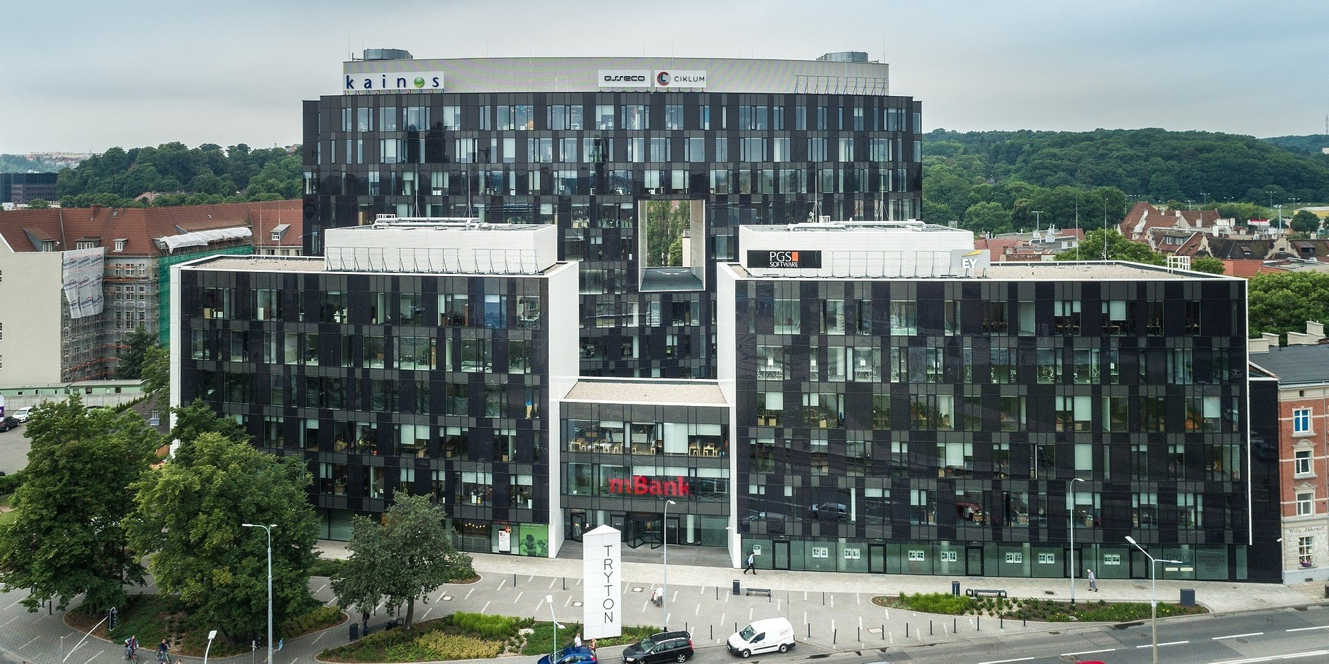 mBank zostaje w Tryton Business House