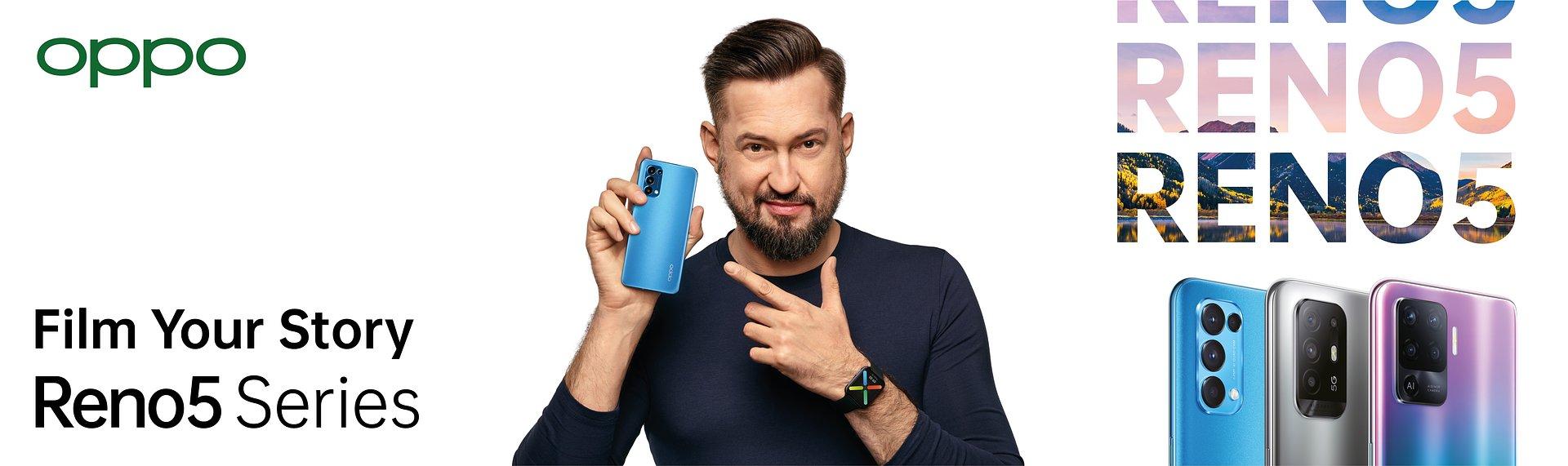 Premiera nowej serii smartfonów OPPO Reno5, opaski OPPO Band i słuchawek bezprzewodowych OPPO Enco X
